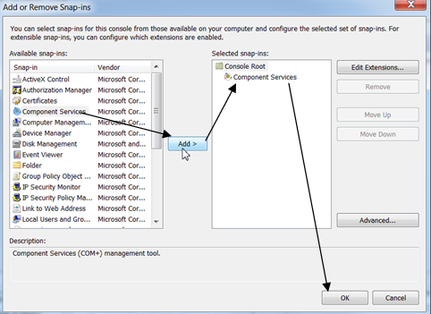 Configuring Distributed Component Object Model (DCOM) for