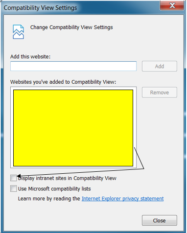 Microsoft Internet Explorer 11 is Required